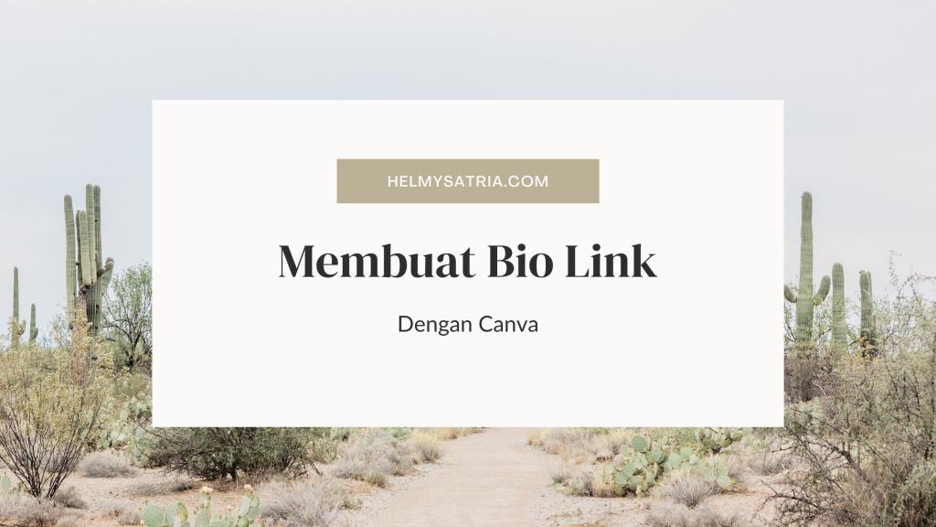 Biolink di Canva